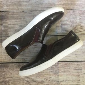 Halogen Wine Colored Loafers 9M Men's